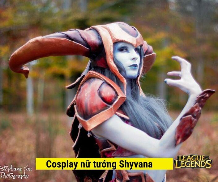 game LOL Cosplay nữ tướng Shyvanna