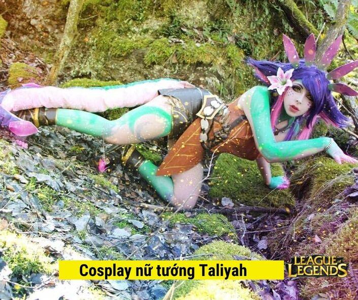 Cosplay nữ tướng Taliyah LOL