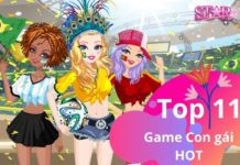 Top 11 game con gái miễn phí android hot