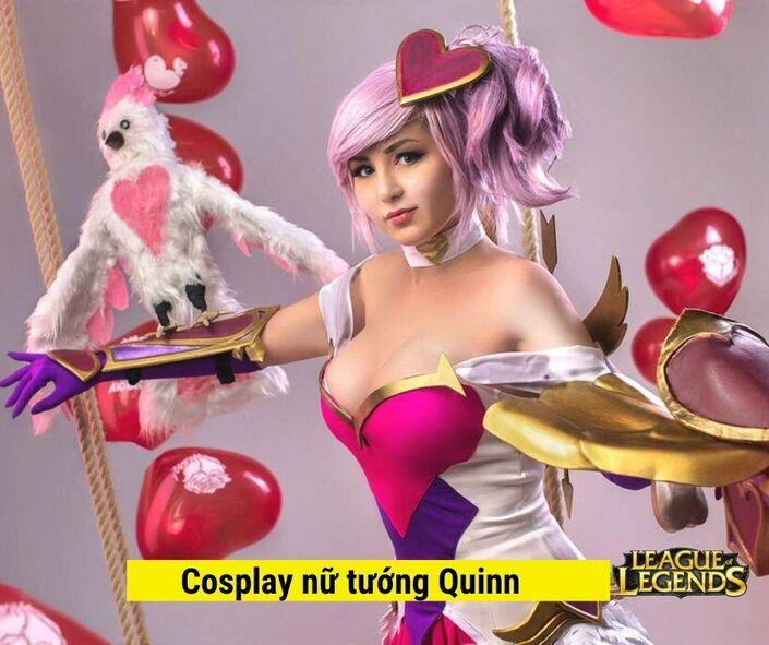 cosplay hình nền đẹp game LOL - tướng Quinn