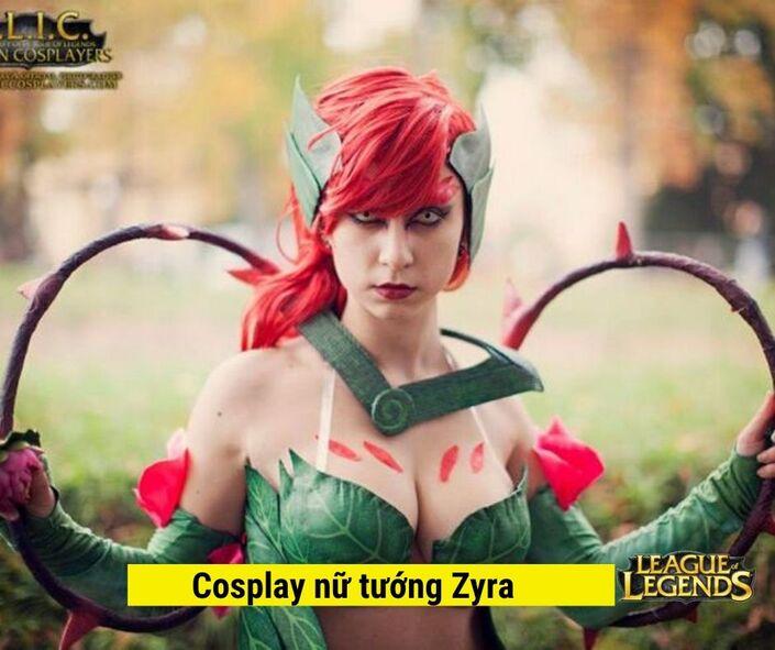 Hình cosplay LOL 46 nữ tướng game Liên Minh Huyền Thoại LOL #1 4
