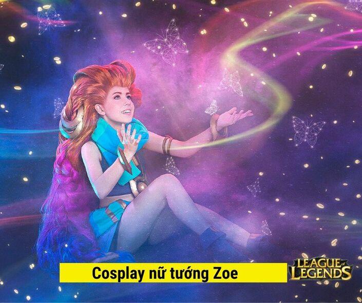 Cosplay Nữ tướng Zoe game LOL