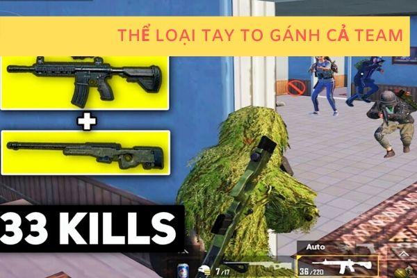 dạng game thủ gánh team kill thật nhiều trong pubg bản mobile