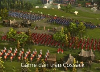 cossack back to war game cổ điển pc chất