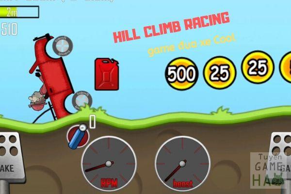 Khi chơi game đua xe hill climb mobile tránh bị lật xe sẽ bị loại