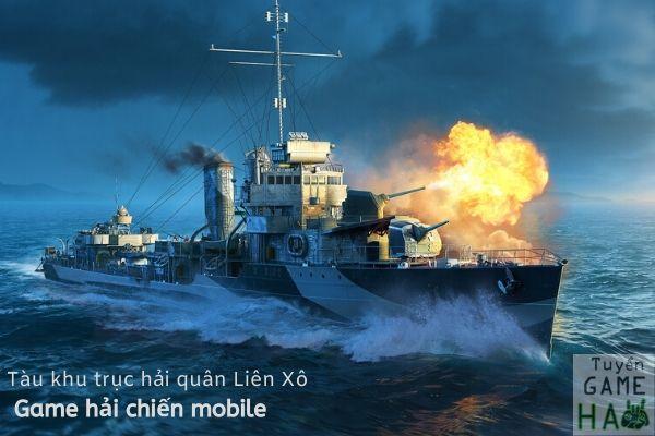 game lai tàu chiến world of warships hải quân Liên Xô