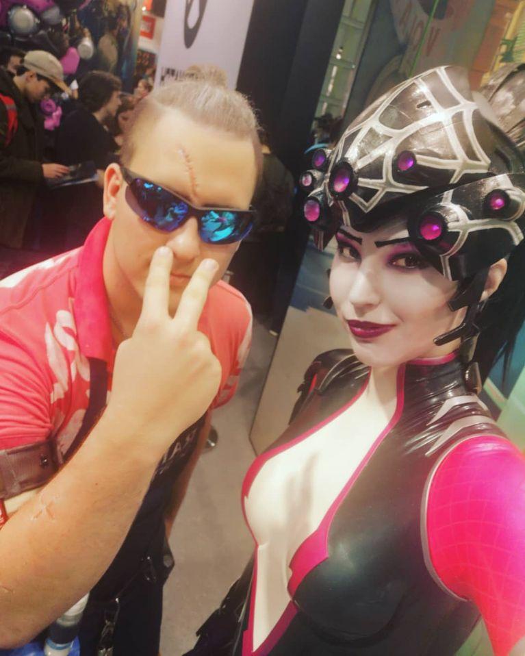 hinh tuong cosplay game con gai dep 4 - Bộ sưu tập hình tượng cosplay game nữ hấp dẫn #1