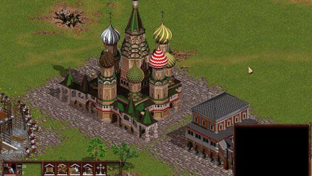 Nhà thờ nước Nga trong game Cossack 2