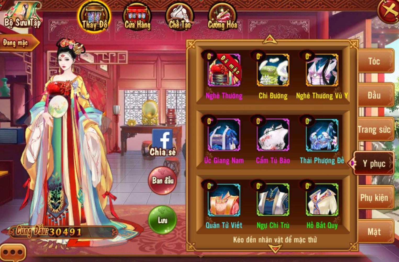 Ngôi Sao Hoàng Cung - game thời trang công chúa đừng bỏ lỡ dành cho con gái