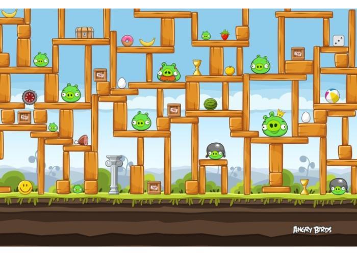 thể thức chơi trong game angry bird