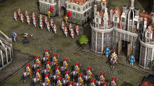 Trong game Cossack có đến 220 công trình châu Âu kiến trục đẹp