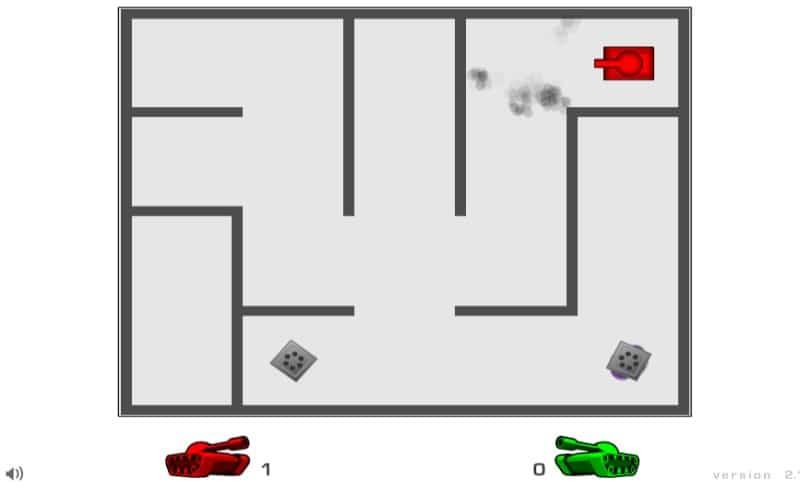 AZ trò chơi Y8 bắn xe tăng 2,3 người