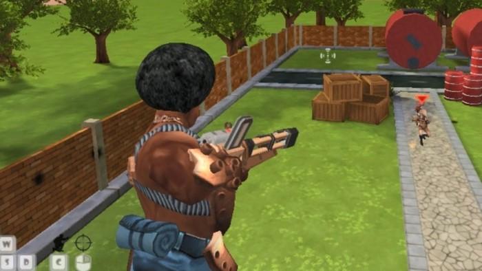 Airport Clash 3D  game bắn súng hay PC trên web Y8
