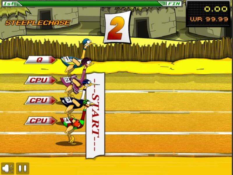 Big Birds Racing trò chơi Y8 1 người đua