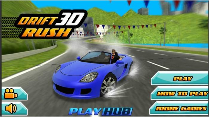 Drift Rush 3D - đua xe Y8