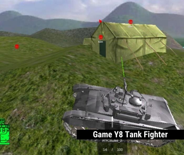 game Y8 bắn xe tăng - Tank Fighter