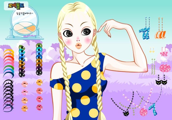 Hair Salon game con gái có quyền điệu