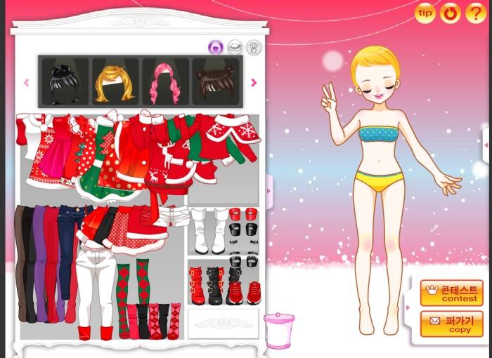 Merry Christmas Daum trò chơi Noel cho con gái
