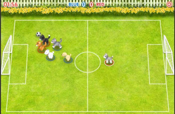 Pet Soccer Game Y8 đá bóng thú cưng