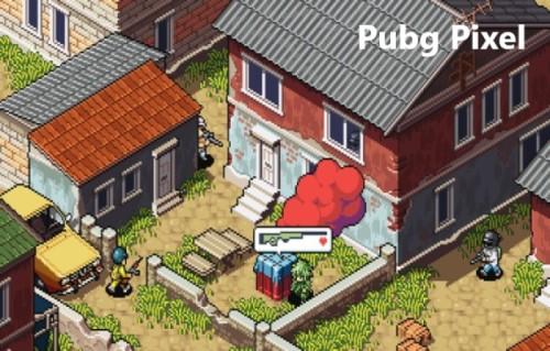 Pubg Pixel game bắn súng Y8 vui nhộn