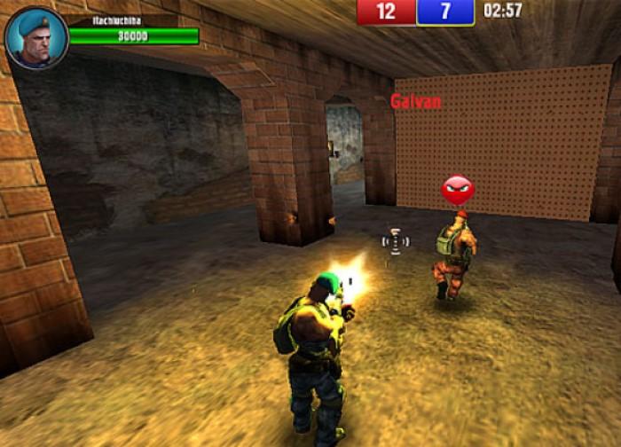Subway Clash 3D game bắn súng hay PC từ Y8