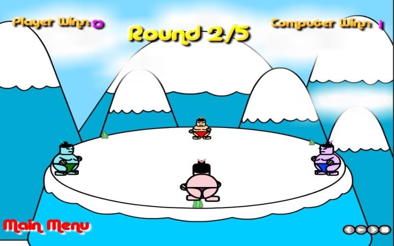 Sumo Slam game Y8 2 người đấu võ