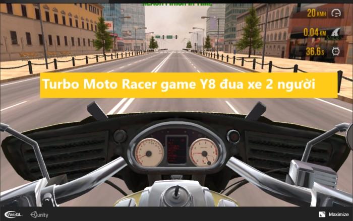 Turbo Moto Racer game Y8 đua xe 2 người
