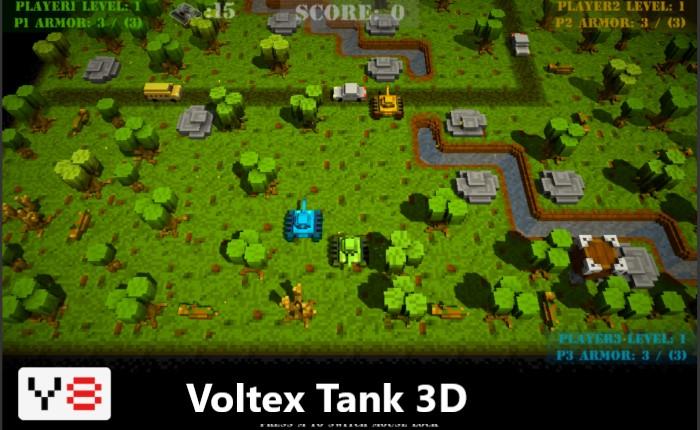 game Y8 bắn xe tăng Voltex tank 3D
