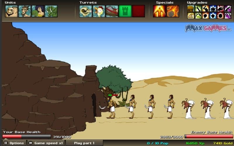 game y8 2 người chiến tranh dàn trận