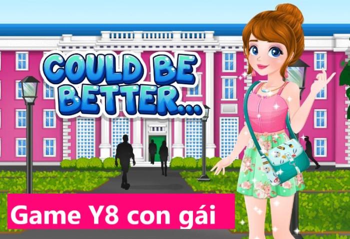 game Y8 con gái bản thời trang