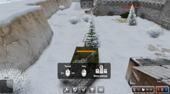 Tanki Online - game bắn xe tăng Y8 trực tuyến