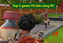 top 5 game Y8 bắn súng PC