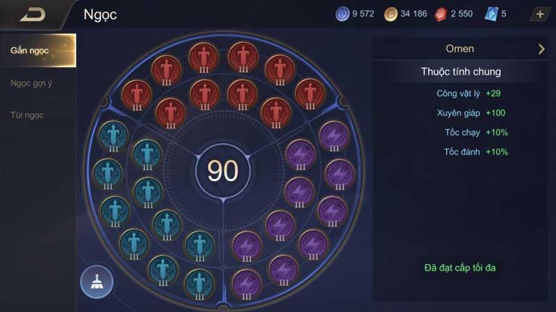 Thủ thuật game mobile - Cách lên đồ cho Veres LQMB