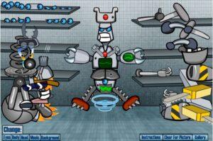 design robot y8