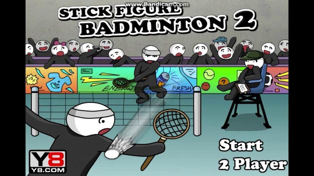 Sticker Figure  Badminton