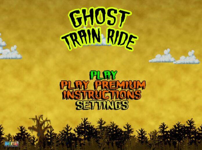 game ma y8 ghost train ride