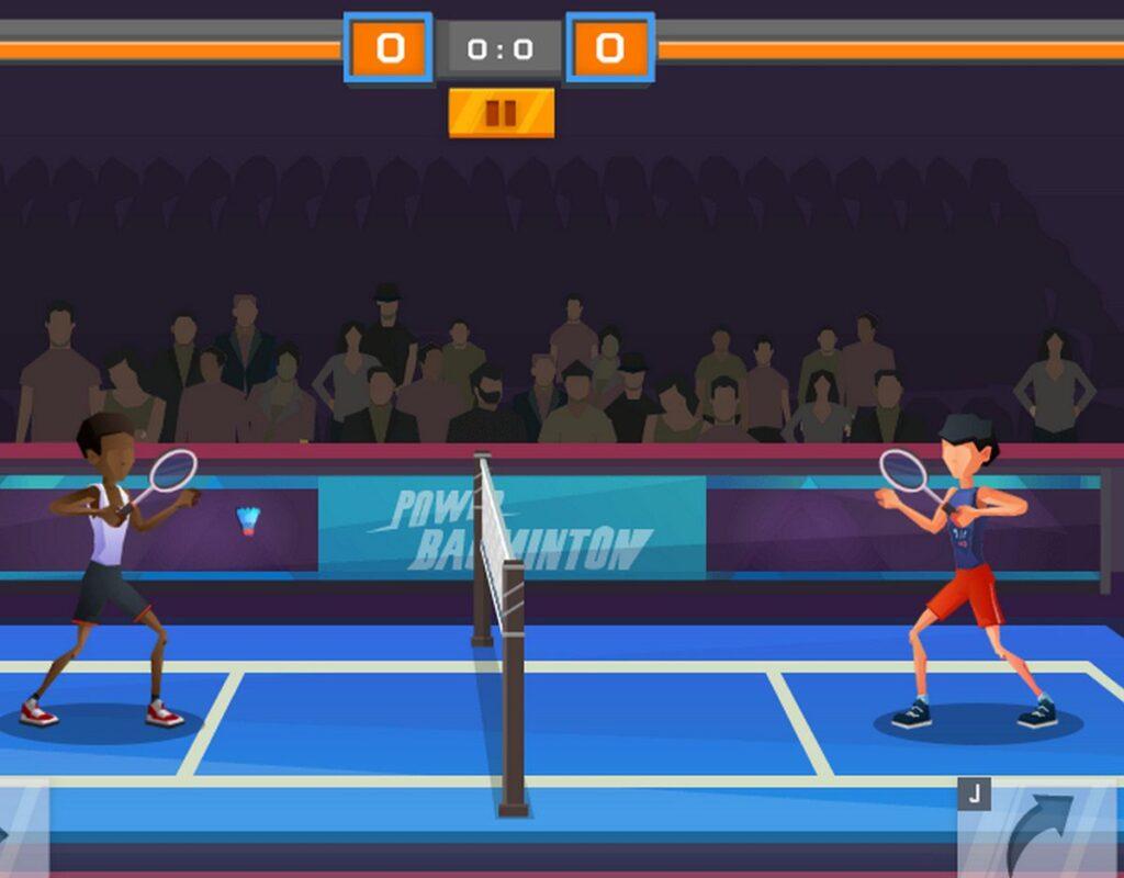 Game cầu lông 2 người Power Badminton