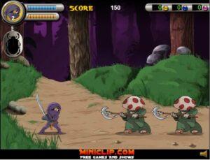 game y8 ninja 3 foot