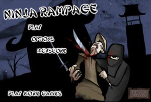 game y8 ninja rampage