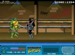 game y8 ninja turtles