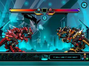 robot y8 t rex