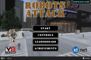 robots attack y8