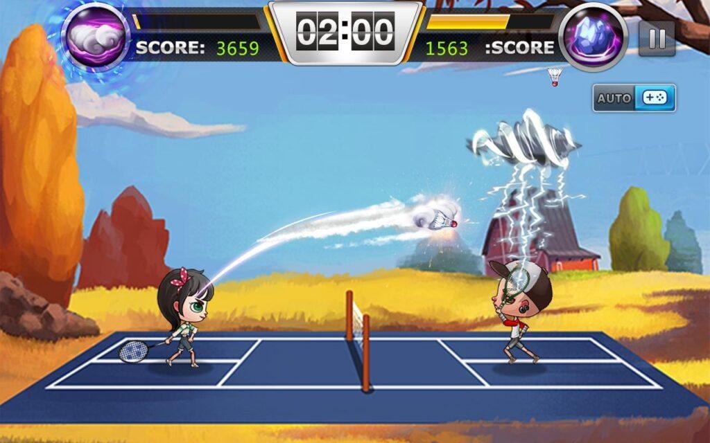 game cầu lông, badminton game