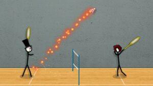 Stick Figure Badminton - game cầu lông 2 người