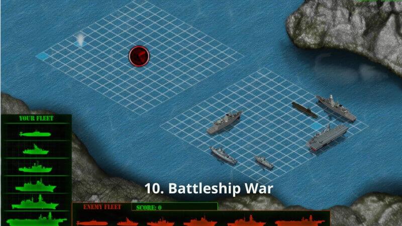 Battleship War trò chơi hải chiến Y8
