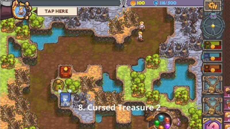 Cursed Treasure 2 y8.com