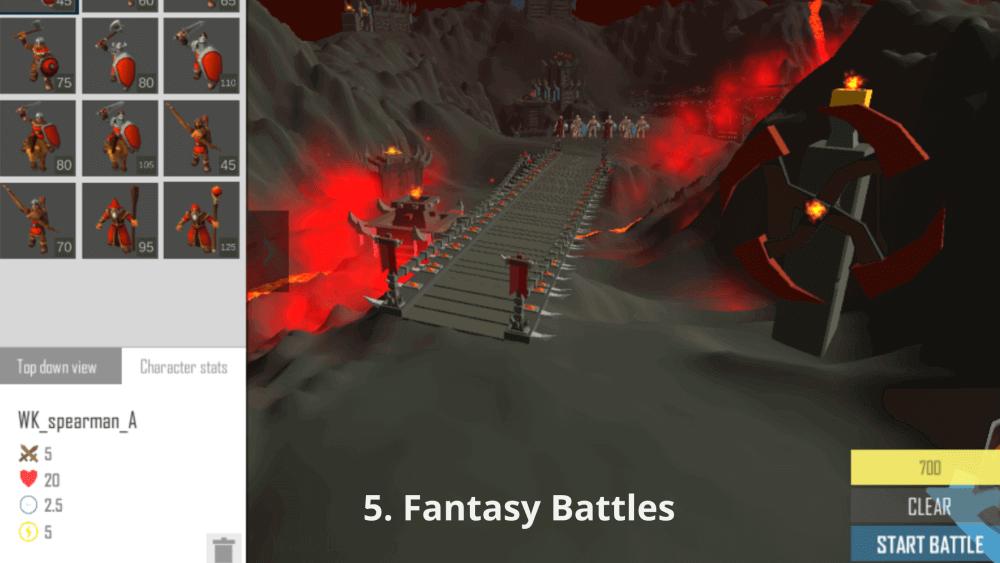 Fantasy Battles - game doi khang