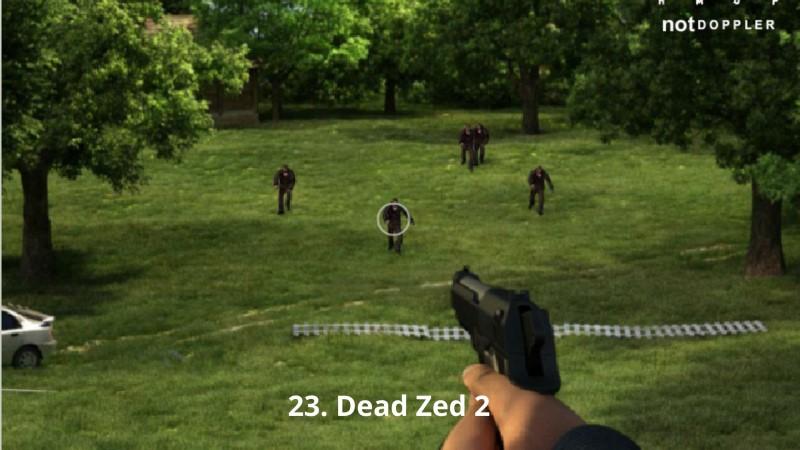 Dead Zed 2 game bắn súng Y8