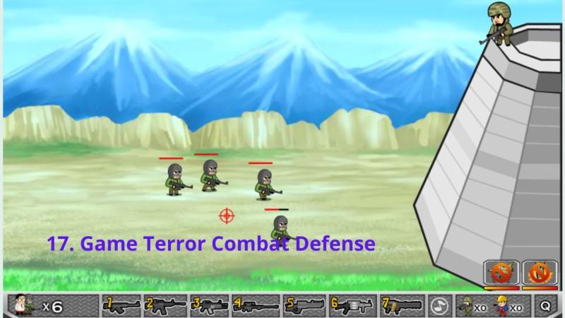 Terror Combat Defense game y8