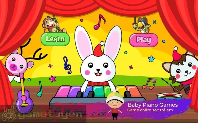 Baby Piano Games dành cho trẻ em